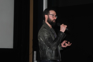 Jamie Starboisky introduced the films.
